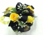 3 Yellow Spray Rose Corsage in Kennesaw GA, Kennesaw Florist