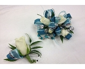 Rose & Spray Matching Pair in Kennesaw GA, Kennesaw Florist