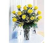 Yellow Rose Special in Houston TX, Clear Lake Flowers & Gifts
