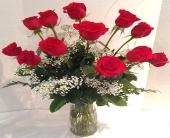 Classic Dozen Rose Bouquet