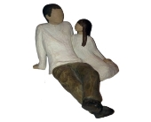 Willow Tree Father and Daughter Figurine in Methuen MA, Martins Flowers & Gifts