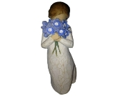 Willow Tree Forget Me Not Figurine in Methuen MA, Martins Flowers & Gifts
