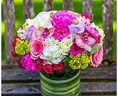 French Garden Bouquet in Bellevue WA, CITY FLOWERS, INC.