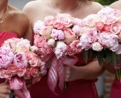 Pink Peonies Bouquet in Seattle WA, Topper's European Floral Design