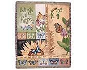 Inspirational Tapestry Throw in Malden, West Virginia, Malden Floral