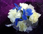 White and Blue in Greenwood IN, The Flower Market
