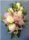 White & Light Pink Corsage in Kennett Square, Pennsylvania, Barber's Florist Of Kennett Square
