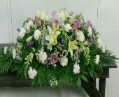 Splendid Grace Casket Spray in Pell City, Alabama, Pell City Flower & Gift Shop
