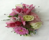 Wrist Corsage in Greenfield, Indiana, Penny's Florist Shop, Inc.
