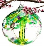 Tree of Enchantment Ornamental Glass - by GiftTree Flowers