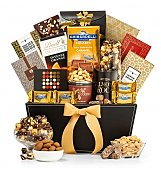 The Metropolitan Gourmet Gift Basket - by GiftTree Flowers