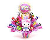EGB8  ''Hello Kitty Easter Candy Bouquet'' in Oklahoma City OK, Array of Flowers & Gifts
