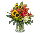 Simpsonville Flowers - Harvest Sun - Expressions Unlimited