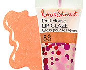 Doll House Lip Glaze in Ammon ID, Petal Passion