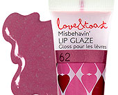 Misbehavin' Lip Glaze in Ammon ID, Petal Passion