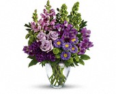 Lavender Charm Bouquet in Oakville, Ontario, April Showers