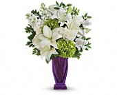 Teleflora's Moments Of Majesty Bouquet in Brooklyn NY, Artistry In Flowers