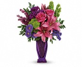 You're A Gem Bouquet by Teleflora in Fredericton NB, Simon Says Roses