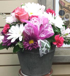Vintage Chic Bouquet in Kennewick WA, Heritage Home Accents & Floral