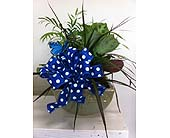 Blue of Dots in Katy TX, Kay-Tee Florist on Mason Road