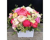 CORAL DREAMS BOUQUET in Bellevue WA, CITY FLOWERS, INC.