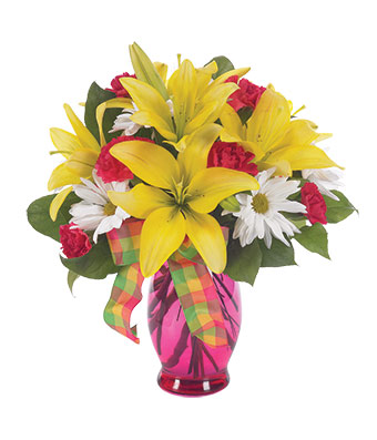 Sunny and Bright in Highlands Ranch CO, TD Florist Designs