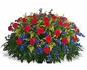 1/2 Pall of Mixed Cut Flowers in Nashville, Tennessee, Flowers By Louis Hody