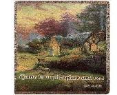 Thomas Kinkade The Good Shepherd's Cottage in Troy, Ohio, Trojan Florist & Gifts