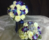 Blue Hues in Palm Beach Gardens, Florida, Floral Gardens & Gifts