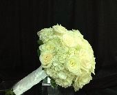 White and Cream Bouquet in Palm Beach Gardens, Florida, Floral Gardens & Gifts