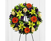 FTD Radiant Remembrance Wreath in Ajax ON, Reed's Florist Ltd