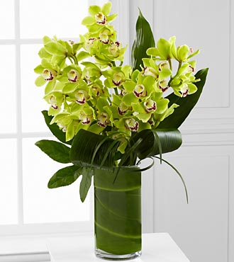 Vision Luxury Orchid Bouquet - 8 Stems - VASE INCL in Highlands Ranch CO, TD Florist Designs