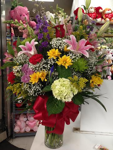 Classic Assorted Vase Arrangement in Forest Hills NY, Danas Flower Shop