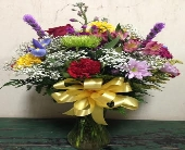Dana's Bright & Cheerful Arrangement in Forest Hills NY, Danas Flower Shop