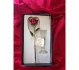 Gold Rose in Red in Greensboro NC, Send Your Love Florist & Gifts