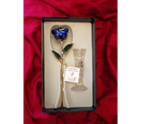 Gold Rose in Blue in Greensboro NC, Send Your Love Florist & Gifts