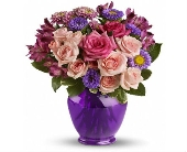 Purple Medley in Smyrna GA, Floral Creations Florist