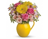 Sunny Day Pitcher of Charm in Smyrna GA, Floral Creations Florist