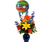 Austin Flowers - Electric Blue Birthday - Freytag's Northwest Florist