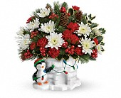 Send a Hug Deck The Igloo by Teleflora in Irvine CA, Irvine Village Flowers