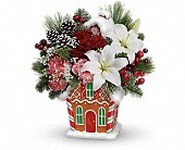 Teleflora's Candy Cottage Bouquet in Edwards AFB CA, Petals & Blooms