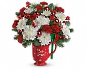 Teleflora's Merry Mug Bouquet in East Dundee, Illinois, Everything Floral