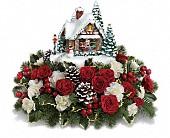 Gresham Flowers - Thomas Kinkade's A Kiss For Santa by Teleflora - Portland Florist Shop