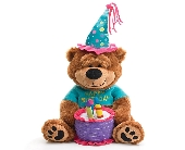 Musical Birthday Bear in Tuscaloosa AL, Amy's Florist