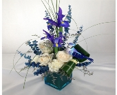 BLUE JAY OF HAPPINESS by Rubrums in Ossining NY, Rubrums Florist Ltd.