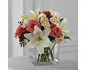 The FTD� Blushing Beauty� Bouquet in Woburn MA, Malvy's Flower & Gifts