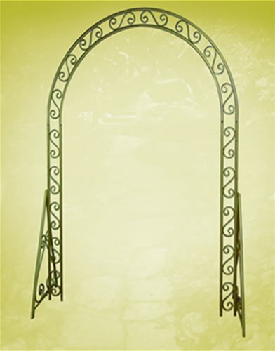 arch iron gold in Staten Island NY, Eltingville Florist Inc.