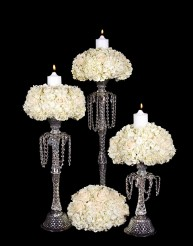 Decorated crystal candlesticks  in Staten Island NY, Eltingville Florist Inc.