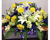 Casket Spray in Ammon ID, Petal Passion