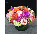 Brazil Sunset Bouquet in Bellevue WA, CITY FLOWERS, INC.